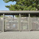 Einhausung für Müllcontainer, Geräte in verschiedenen Ausführungen www.business-supporter.ch