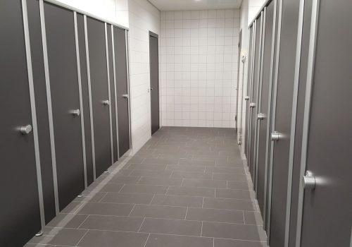 WC Trennwand von CATO in verschiedenen Ausführungen erhältlich bei Business Support Group AG