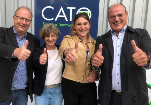 CATO GmbH & Co. KG übergibt Vertriebsrechte für die Schweiz an die Business Support Group AG