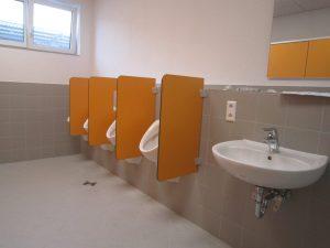 WC-Trennwände, Schamwände, Sichtschutzwände