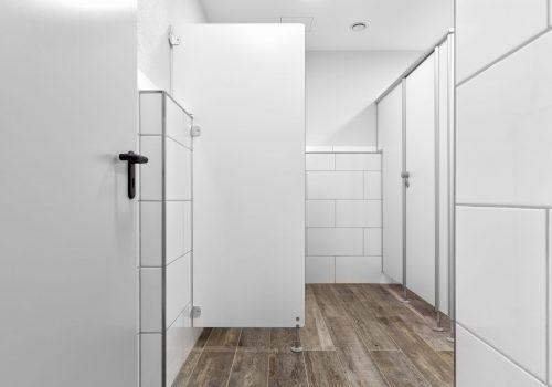 Sozialraum, WC, Sichtschutzwand, weiss, 180980