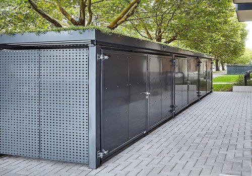 Einhausung für Mülltonnen projekt w1