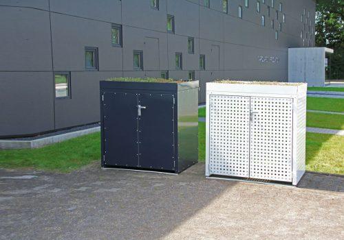 Mülltonnenboxen projekt w