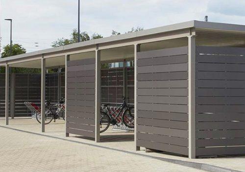 Einhausung für Velo und Fahrzeuge, Müllcontainer by «projekt w» von business-supporter.ch